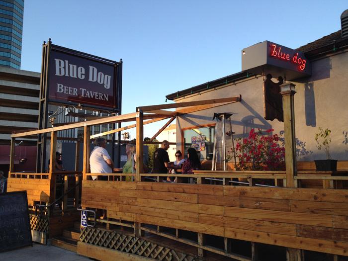 blue dog beer tavern